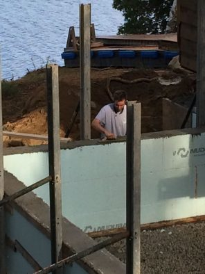 Almonte ICF construction